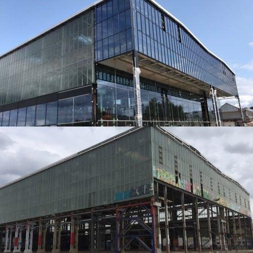 Knap staaltje gevelbouw in Tilburg